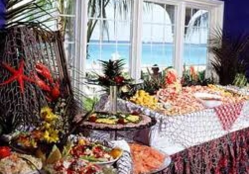 Resort buffets in the Dominican Republic